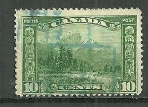 1928 Canada 155  10¢  The Ice-crowned Monarch of the Rockies by Bell-Smith used