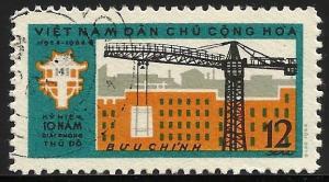 North Viet Nam 1964 Scott# 319 Used