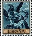 Spain 1969 The Vision of St. John the Baptist'