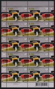 Slovenia 957 Sheet MNH Telephone, Industrial Design