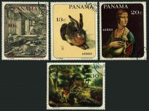 Panama C357-C360,MNH.Mi 1013-1016. Peter Paul Rubens,1967.