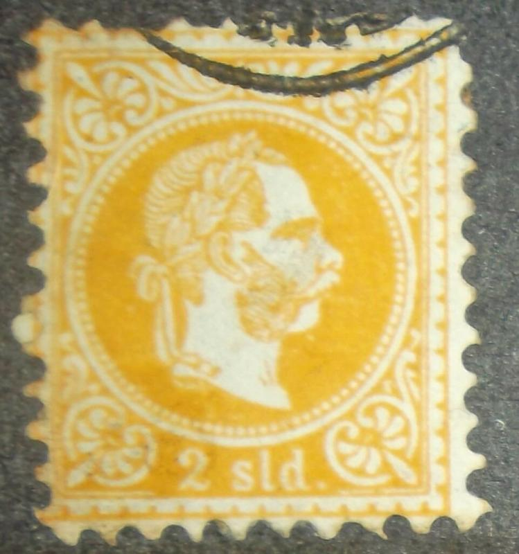 Austria Scott #1 w/great color Free US Shipping