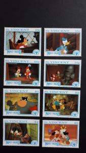 Disney - St. Vincent. 1991 ** MNH blue