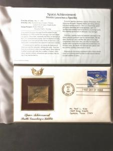 US #1914 and Gold-Plated Stamp