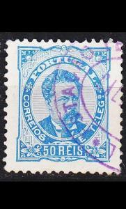 PORTUGAL [1882] MiNr 0057 xA ( O/used )