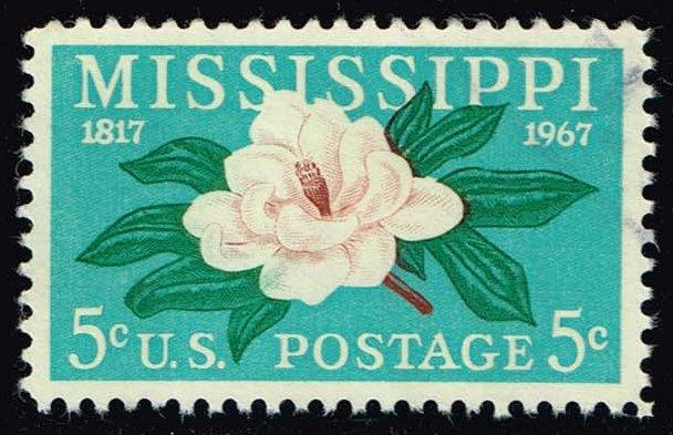US #1337 Mississippi Statehood; Used (0.25)