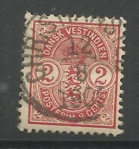 DANISH WEST INDIES 29 USED ARMS ISSUE 1903