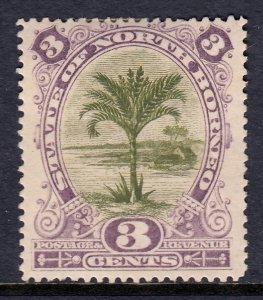 North Borneo - Scott #61 - MH - Toning - SCV $4.00