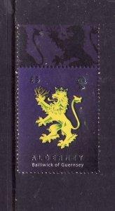 Alderney-Sc#331-unused NH set-Heraldic Lion-id2-2008-