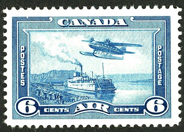 Canada #C6 MINT OG HR