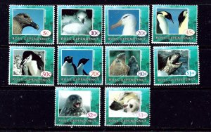 Ross Dependency L21//30 MNH missing L23A 1994-95 partial Wildlife set