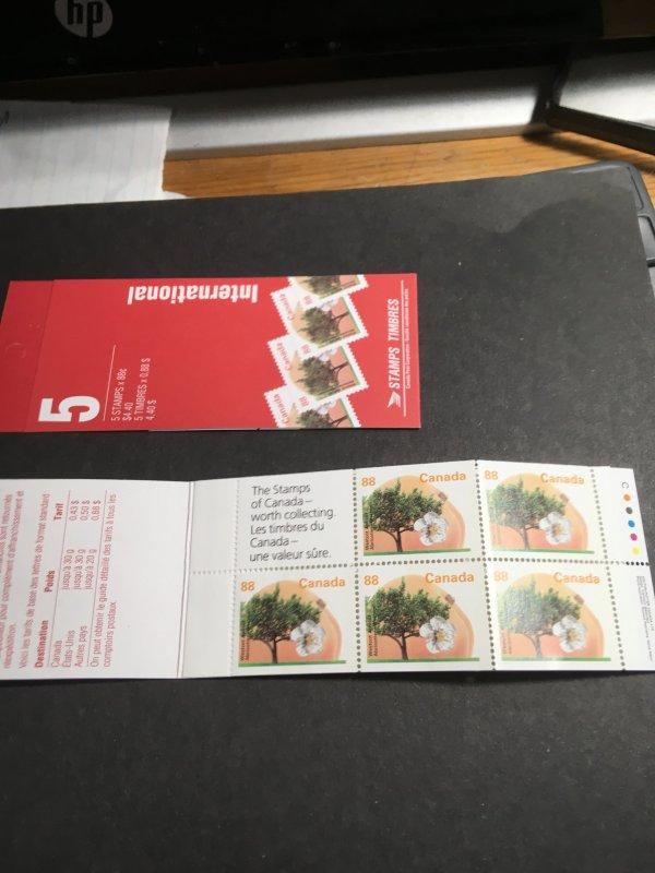 Canada USC #BK168Bb Cat.$30. APC Perf. 14.5 x 14 Open Covere Westcot Apricot