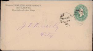 United States, Ohio, United States Postal Stationary