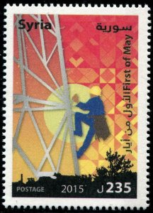 HERRICKSTAMP NEW ISSUES SYRIA Sc.# 1741 May 1 Labor Day 2015