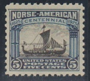 U.S. Scott #621 Norse-American Stamp - Mint NH Single