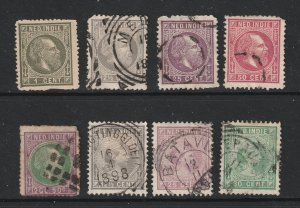 Netherlands Indies a small lot of old ones