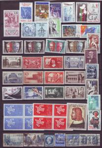 J15236 JLstamps france mnh/mh/bottom row used with better#