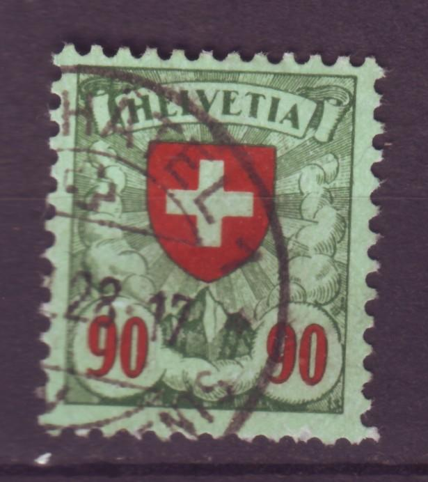 J12642 JLstamps 1924 switzerland part of set used #200 cross