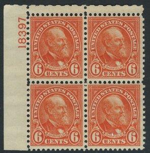 US Scott 638 Plate Block of 4! MNH! #18397