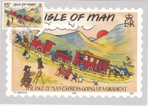 Isle of Man # 413-417, Humorous Post Cards, Maxi Cards, First Day Cancels