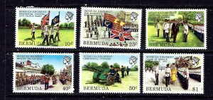 Bermuda 423-28 MNH 1982 Bermuda Regiment
