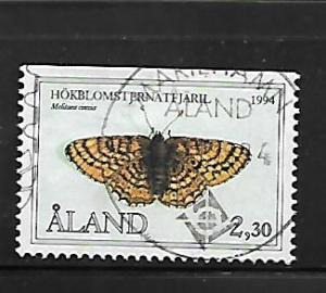 ALAND ISLANDS, 78, USED, BUTTERFLY TYPE