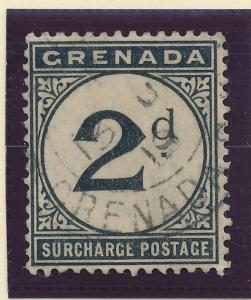Grenada Stamp Scott #J-2 Postage Due, Used - Free U.S. Shipping, Free Worldwi...