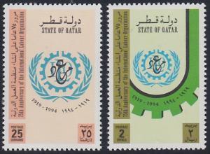 Qatar 854-855 MNH (1994)