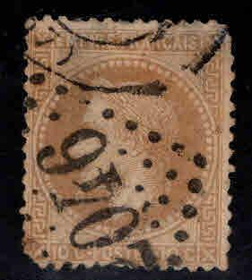 France Scott 32 Used stamp rounded corners