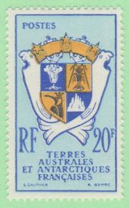 FSA SC #15 MNH 1959 Coat of Arms, CV $18.00