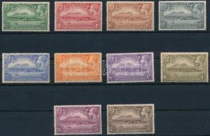Montserrat stamp Definitive set (6P,2,6Sh hinged) 1932 MNH,Hinged WS222048