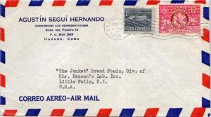 Cuba 1c Proposed Communications Building Postal Tax and 12c Rotary Internatio...