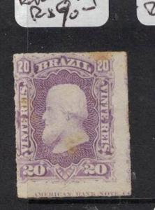 Brazil SC 69 English Imprint At Bottom MNG (6dre)