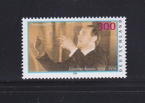 Germany 2021 Set MNH Gunther Ramin, Orgainst