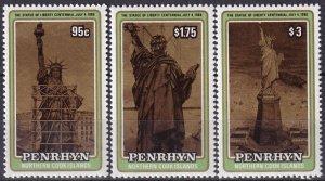 Penrhyn Island  #340-2 MNH CV $5.60 (Z6121)
