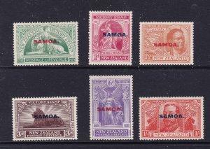 Samoa the 1920 Victory set MH