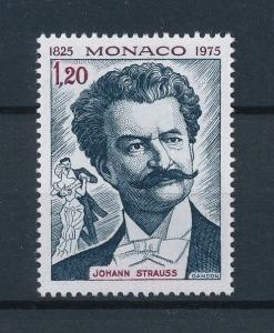 [95091] Monaco 1975 Music Johann Strauss Dance  MNH