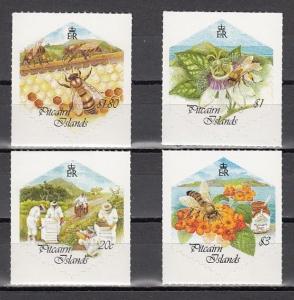 Pitcairn Is., Scott cat. 507-510. Honey Bees issue.