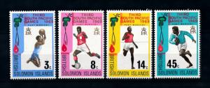 [93151] Solomon Islands 1969 Sports Football Basketball Rugby  MNH