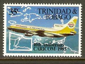 Trinidad & Tobago #382 NH Caricom Day