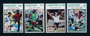 [59581] Lesotho 1994 World Cup Soccer Football USA Lerby Milla from set MNH