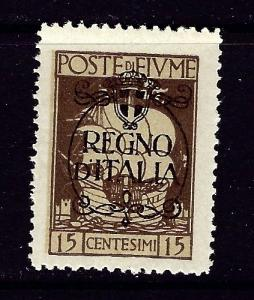 Fiume 186 MNH 1924 overprinted issue