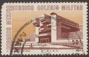 MEXICO 1149 New Campus of the Military College. Used. F-VF. (715)