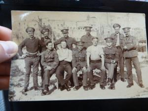 Malta Soldiers PPC 1917, message, unsent (40bet)