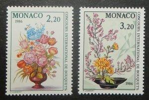 Monaco 1491-92. 198 International Flower Show, NH