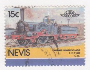 Nevis, Sc 194, CTO-NH, 1985, Locomotive