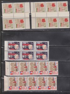 RUSSIA Large Lot Of MNH Multiples With Duplication - CV Over $550