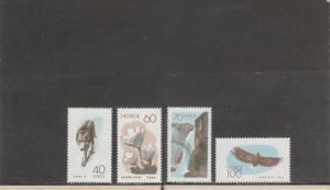 NORWAY 551-554 MNH 2019 SCOTT CATALOGUE VALUE $8.50