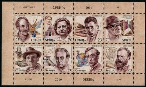 HERRICKSTAMP NEW ISSUES SERBIA Sc.# 765 Art 2016 Sheetlet in Booklet