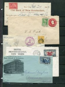 USA covers  and part covers   - Lakeshore Philatelics